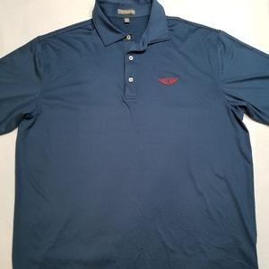 Peter Millar Summer Comfort XL Polo Golf Shirt Men